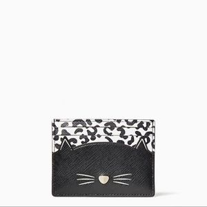 Kate Spade meow slim card holder